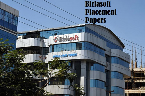Birlasoft Placement Papers