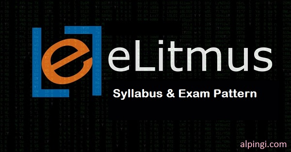 eLitmus syllabus and Pattern