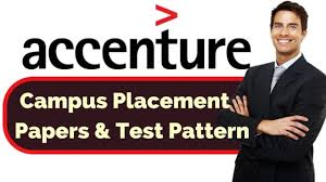 Accenture Placement Syllabus and test pattern