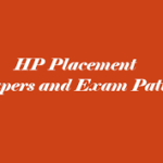 HP Placement Syllabus and Exam Pattern
