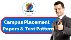 Wipro Placement Syllabus and Online Test Pattern