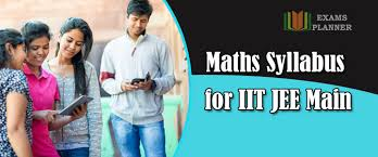 IIT JEE Main Maths Syllabus