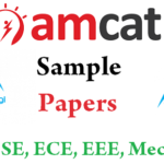 AMCAT Sample Paper