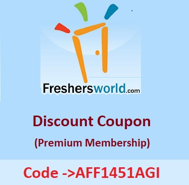 100 working code amcat discount coupon may 2018 upto 100 off click here to register for freshersworld premium membership get 50 off hurry up on applying coupon code aff1451agi fandeluxe Images